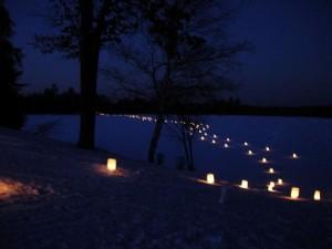 Light the Night Winter Trail Walks