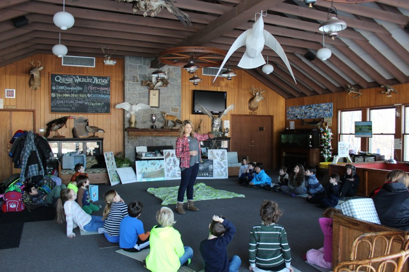 teaching wildlife class