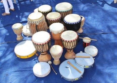 Once in a Blue Moon Drumming Circle