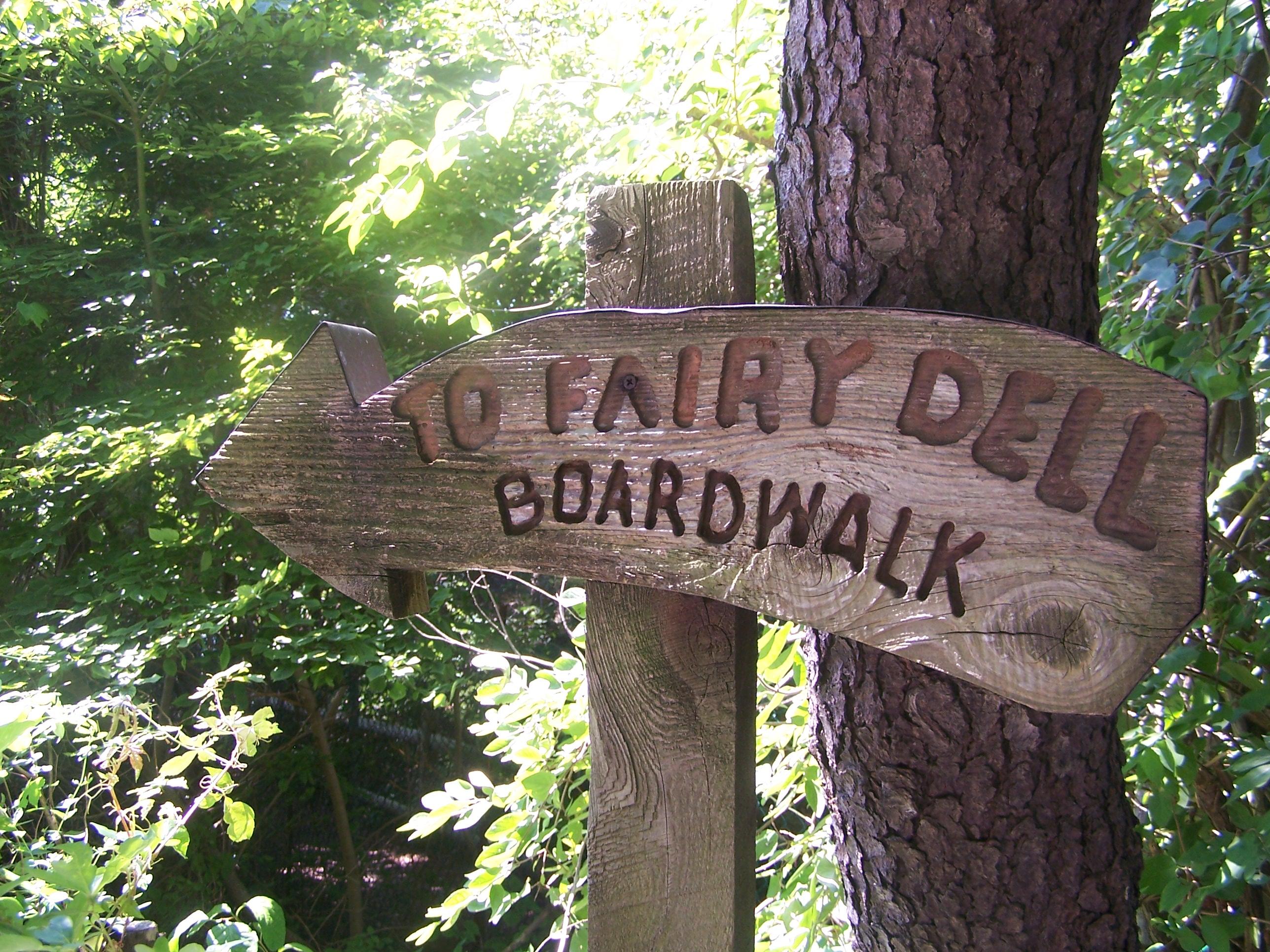 Fairy Dell Sign