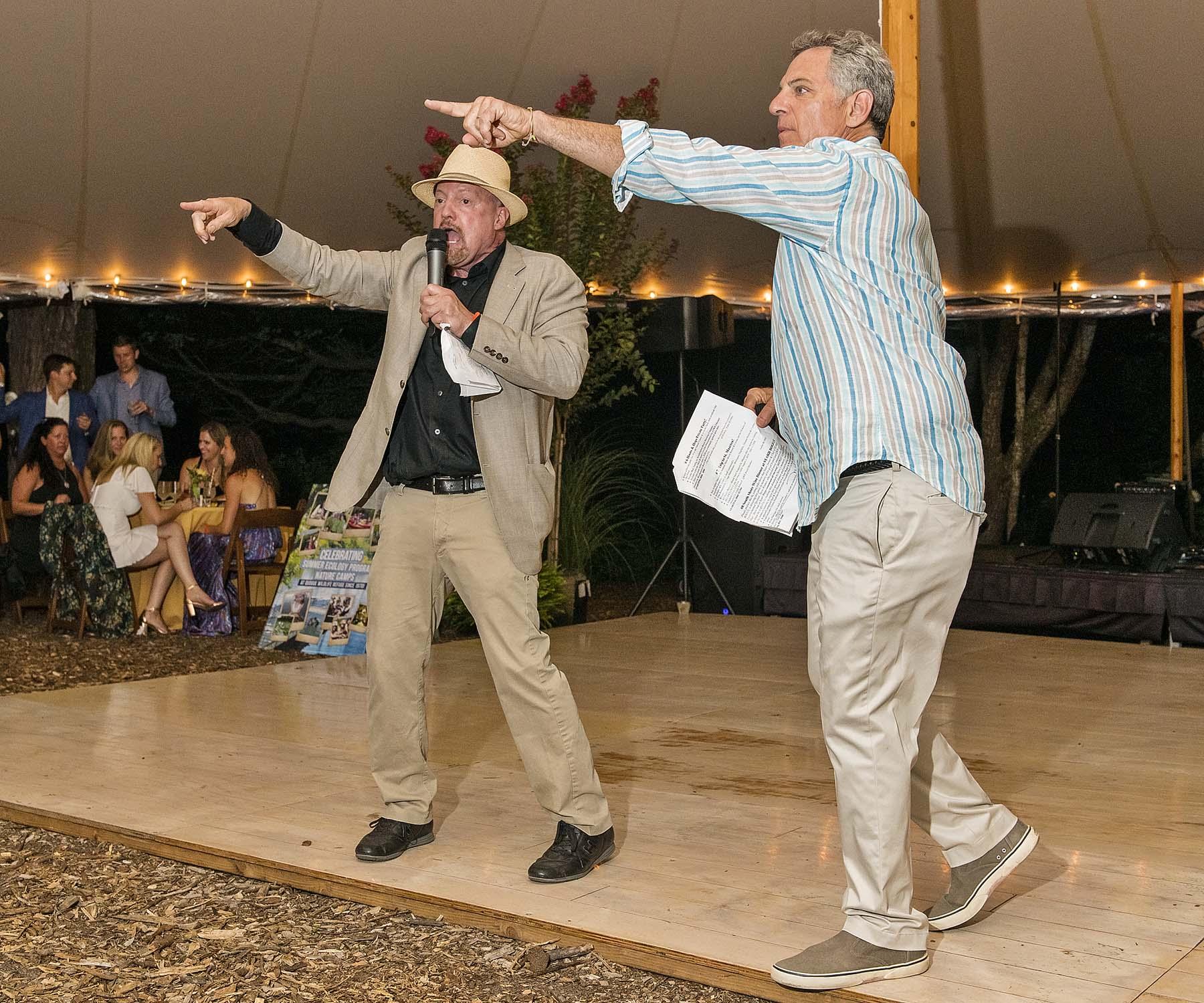 Jim-Cramer-Bill-Ritter-Live-Auctioning